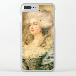Victorian Clear iPhone Case