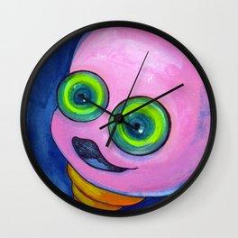 Pinky 2 Wall Clock