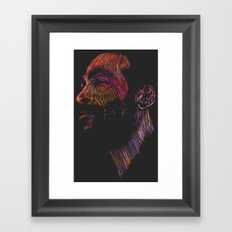 Marvin Gaye Color version Framed Art Print