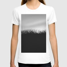 Pine Trees High Res Black and White Landscape Photography T-shirt