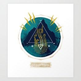 The Mountain o Madness Art Print