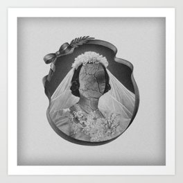 Bride II Art Print