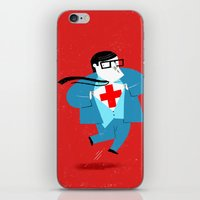 heroes iPhone & iPod Skins featuring Heroes by Simone Massoni