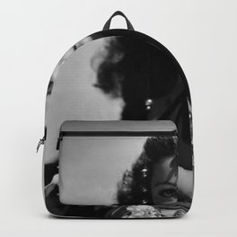 Gene Tierney, Hollywood Starlet black and white photograph / black and white photography Backpack