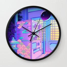 Maneki Machine Wall Clock