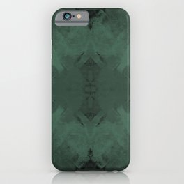 Spongey Existence in Teal iPhone Case