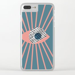 Eye on you Clear iPhone Case
