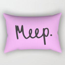 Meep. Rectangular Pillow
