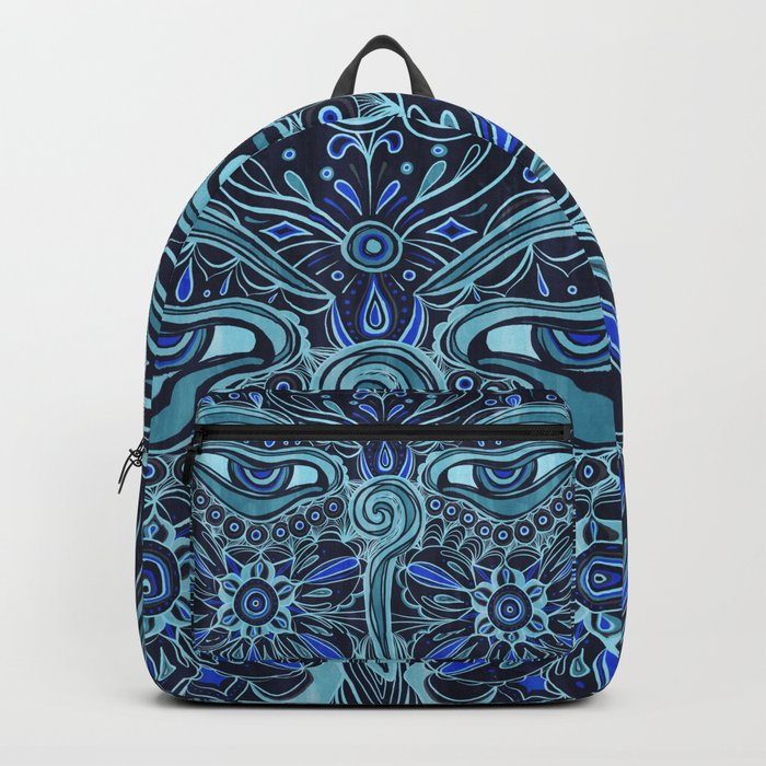 The Eyes of Buddha Backpack