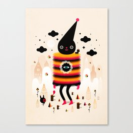 Mr. Wooly Canvas Print