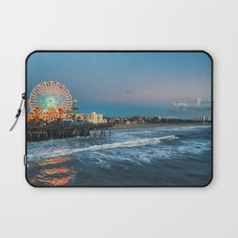 Wheel of Fortune - Santa Monica, California Laptop Sleeve