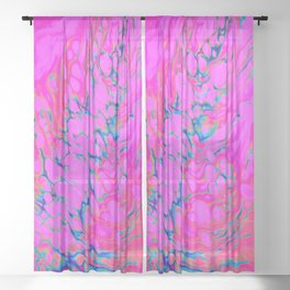 I Thought of You Today Sheer Curtain