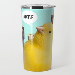 Canary in the City Travel Mug