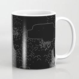 land of 15 towns and a cemetary · negative ⎌ Coffee Mug
