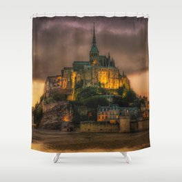 Le Mont Saint-Michel Shower Curtain