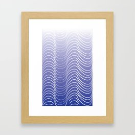 Out At Sea Framed Art Print
