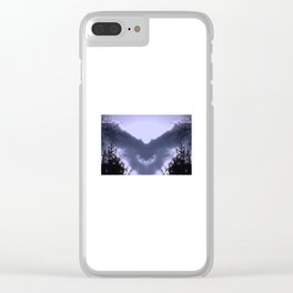Night Bringing Owl Clear iPhone Case