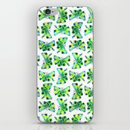 Sea Glass Butterflies iPhone Skin