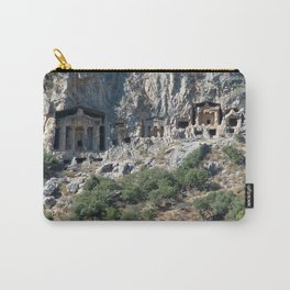 Carved Rock Tombs at Dalyan Carry-All Pouch