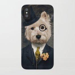 Sir Bunty iPhone Case