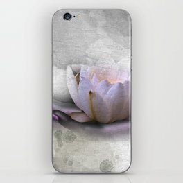 the nature in your hand iPhone Skin