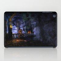 castlevania iPad Cases featuring Castlevania: Vampire Variations- Bridge by LightningArts