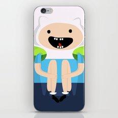ADVENTURE TIME: FINN THE HUMAN iPhone & iPod Skin
