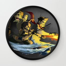 Team Avatar Wall Clock