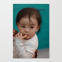 Cute baby Canvas Print