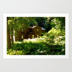 Orchard House Art Print