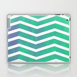 Patterned Chevron (Green) Laptop & iPad Skin