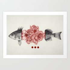 To Bloom Not Bleed Art Print