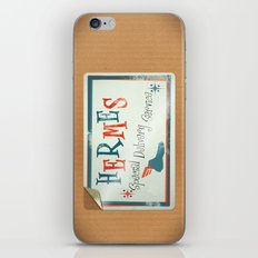 Hermes Special Delivery Service iPhone & iPod Skin