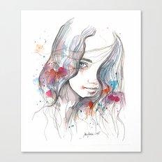 Spring 2015, watercolor Canvas Print
