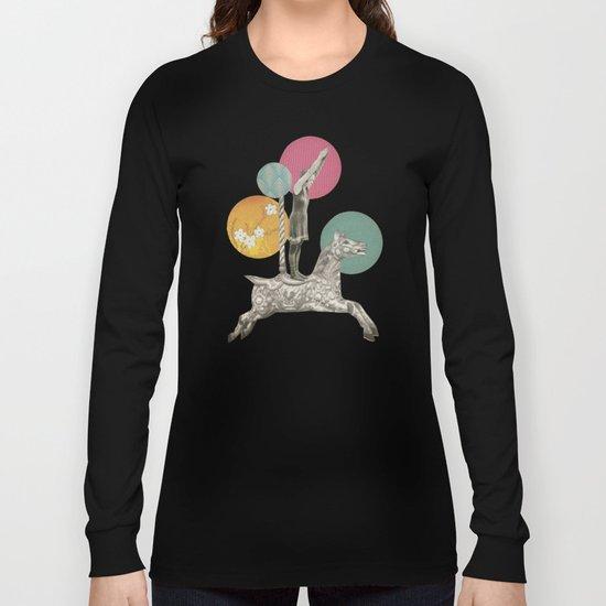 Runaway Horse Long Sleeve T-shirt