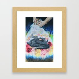 Garden of Rapture Framed Art Print