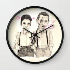 Meet the Valentines Wall Clock