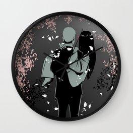 Wedding photo Naruhina 03 Wall Clock