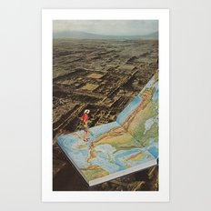 Atlas Chic Art Print