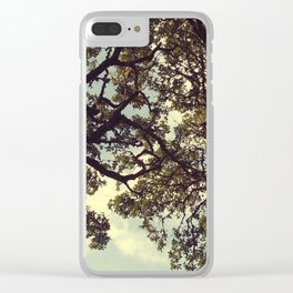 Holding on Clear iPhone Case