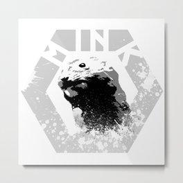 MINK Metal Print