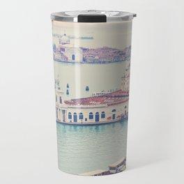Bird's eye of Venice Travel Mug