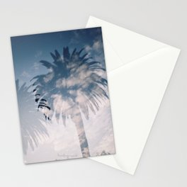 Cloudy Palm Stationery Cards