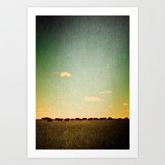 Of the Field Art Print
