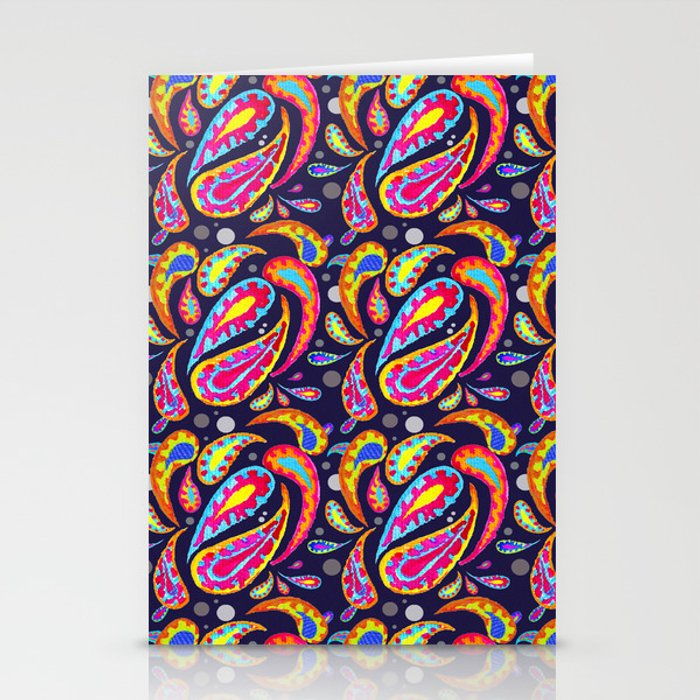 Paisley 1 Stationery Cards