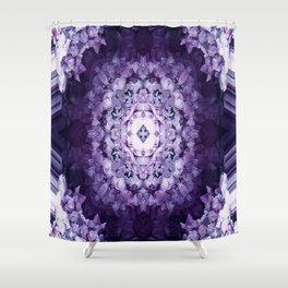 Encased in Purple.... Shower Curtain