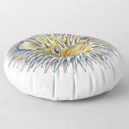 Puffer fish -  Fugu fish Floor Pillow