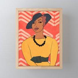 Zora Neale Hurston Framed Mini Art Print