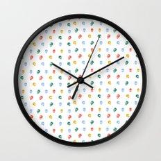 Skullies Wall Clock