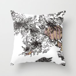 Mission Throw Pillow
